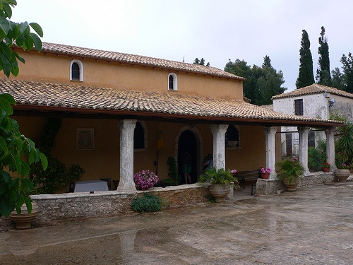 St Denis Monastery or Theotokos Anafonitria, Zakynthos, Greece