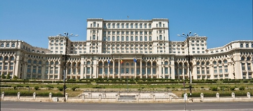 Palatul Parlamentului in Bucharest, Romania