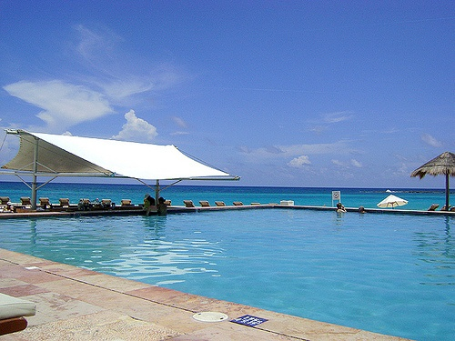 Pool at Westin Regina in Cancun
