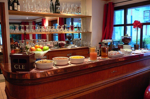 Breakfast  at Hotel Slalom at Les Houches