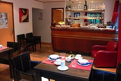 Breakfast room at Hotel Slalon in Les Houches