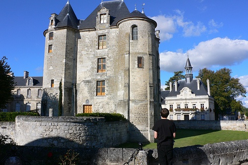 Chateau at Vic-sur-Aisne