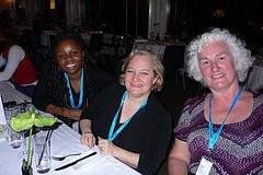 Lola Akinmade, Marian Goldberg, Karan Bryan