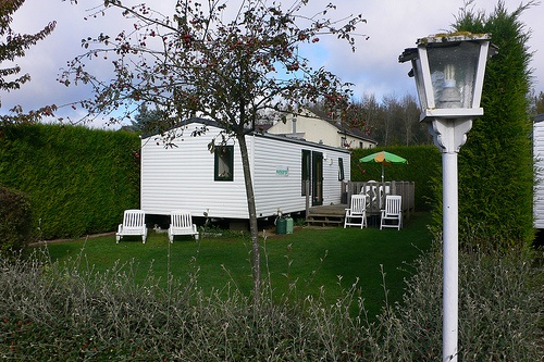 Our Eurocamp Mobile Home at La Croix du Vieux Pont at Berny-Rivière