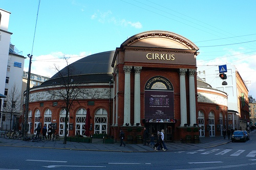 Wallmans Cirkus building where TBEX was held