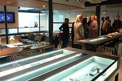 Georg Jensen silver workshop , Copenhagen