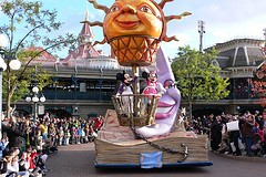 Parade at Disneyland Paris