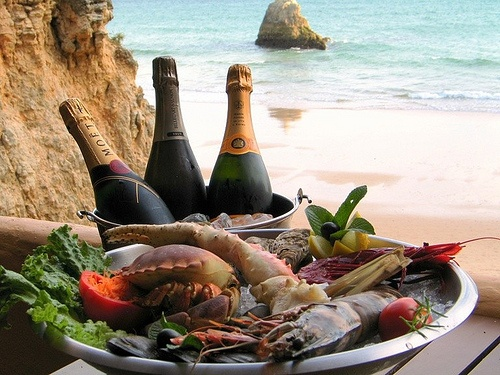 Seafood of the Algarve