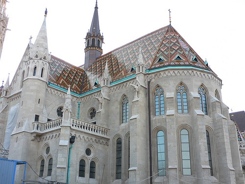Matyas church in Budapest