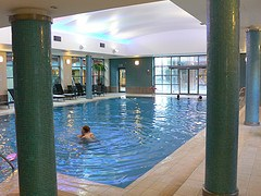 Pool at Welcombe Hotel, Stratford-upon-Avon