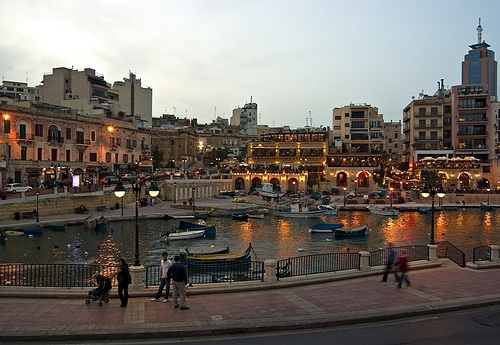A harbour on Malta