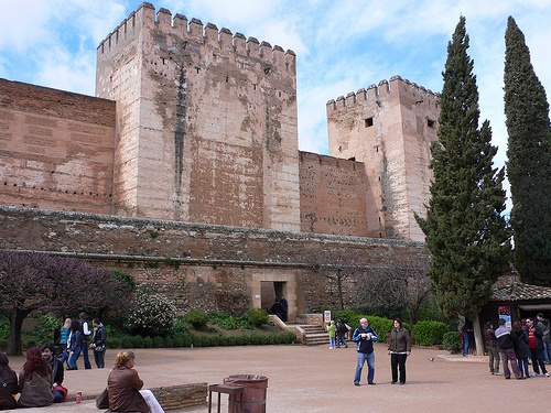 The Tower of Homage at Alhambra in Granada