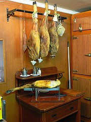 Jamon at El Chorro