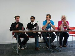 Melvin, Kash, Matt and Karen at Travel Bloggers Unite 11
