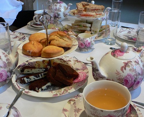 Afternoon tea at the Arden Hotel,  Stratford-upon-Avon