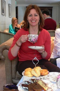 Afternoon  tea at the Arden Hotel, Stratford