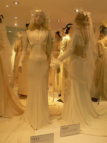 Wedding Dress Exhibition At The Fashion Museum In Bath