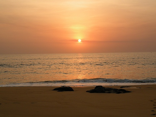 Sunset in Sierra Leone