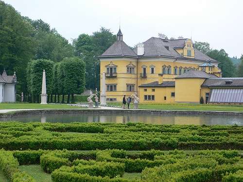Gardens at Schloss Hellbrunn, Salzburg by Heatheronhertravels.com