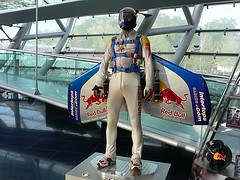 Red Bull gives you wings - Hangar 7 in Salzburg
