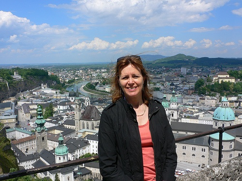 View from the Hohensalzburg Fortress in Salzburg Photo by Heatheronhertravels.com