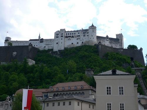 Hohensalzburg Fortress in Salzburg Photo by Heatheronhertravels.com