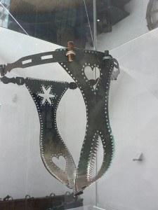 Spiky underwear in the Hohensalzburg Fortress in Salzburg Photo by Heatheronhertravels.com
