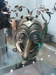 Torture mask in the Hohensalzburg Fortress in Salzburg Photo by Heatheronhertravels.com