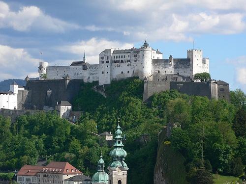 Hohensalzburg Fortress in Salzburg by Heatheronhertravels.com