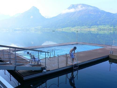 Hotel Im Weissen Rössl at St Wolfgang in Austria by Heatheronhertravels.com