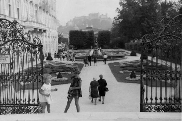 Mirabell Gardens Salzburg 1967