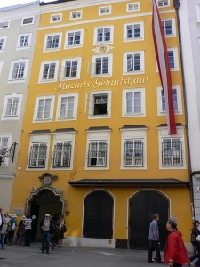 Mozart's birthplace in Salzburg by Heatheronhertravels.com