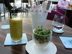 Smart Food at Mayday Bar in Hangar 7 in Salzburg by Heatheronhertravels.com