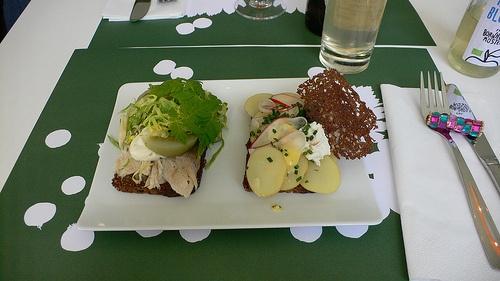 Smørrebrød at Aamanns in Copenhagen