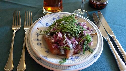 Smørrebrød at Gitte Kik in Copenhagen