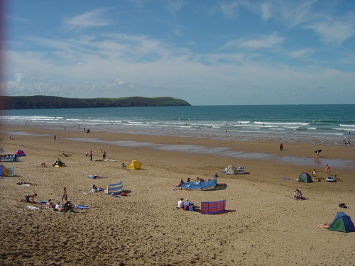Woolacombe beach in Devon - photo by Joseph Tame