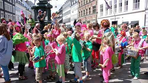 Childrens carnival in Copenhagen