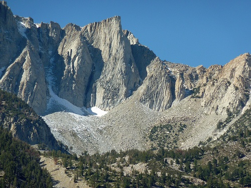 Impressive scenery near Tioga Pass, Yosemite National Park