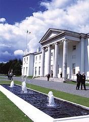 Aras An Uachtarain in Dublin