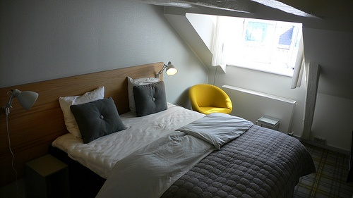 Bedroom 652 at Ibsens Hotel, Copenhagen