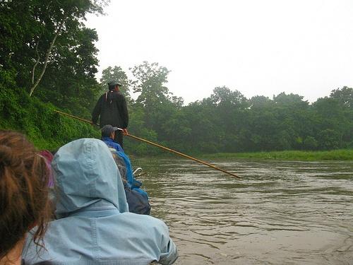 Canoe trip in Chitwan, Nepal