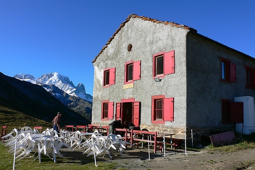 Refuge Col de Balme on the Tour de Mont Blanc