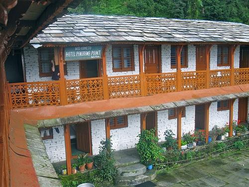 Trekking lodge in Nepal