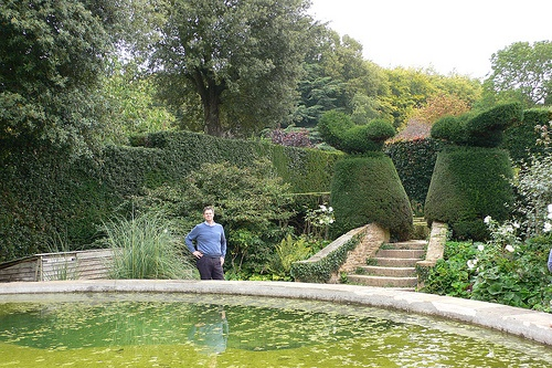 The Bathing Pool Garden at Hidcote Manor Gardens Photo: Heatheronhertravels.com