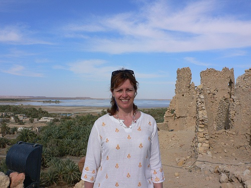 The Temple of the Oracle in Siwa, Egypt Photo: Heatheronhertravels