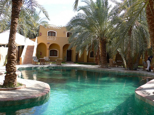 Siwa Safari Gardens Hotel in Siwa, Egypt Photo: Heatheronhertravels