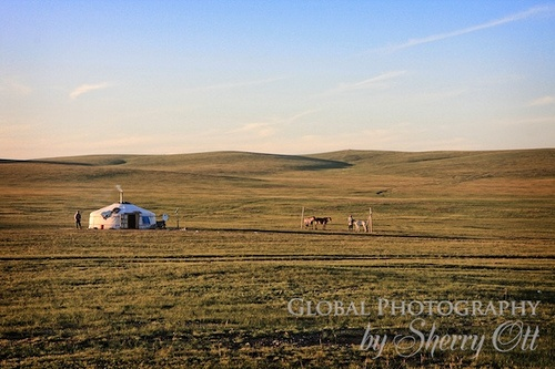 A Ger in Mongolia on the Mongol Rally Photo: Sherry Ott