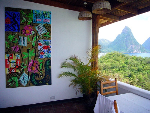 A room in Anse Chastenet