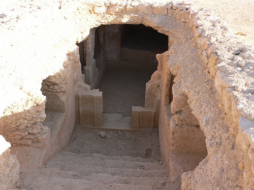 Tomb at Gebel Al Mawta or the Mountain of the dead in Siwa, Egypt Photo: Heatheronhertravels.com