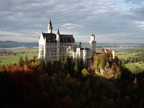 Neuschwanstein Castle Photo: mwacker69 on Flickr